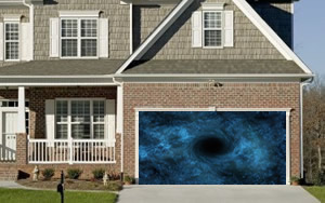 Solar System Garage Door Screen