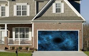 Solar System Garage Door Screen