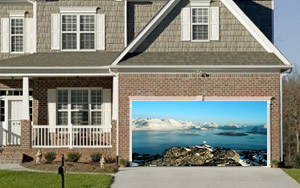 Greenland Garage Door Screen