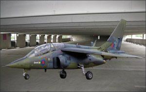 Fighter Jet Garage Door Screens