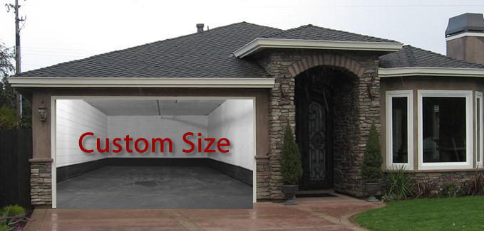 Custom Garage Door Screens